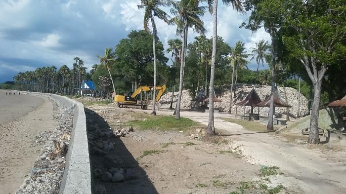 Pembangunan Infrastruktur Pantai Lasiana Habiskan Miliaran Rupiah Kelapa Tinggi Kab