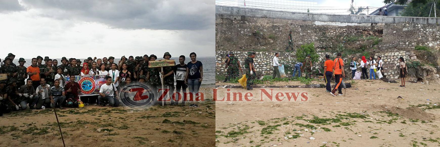 Ketapang Satu Pantai Bukan Tempat Sampah Zona Line News Kegatian