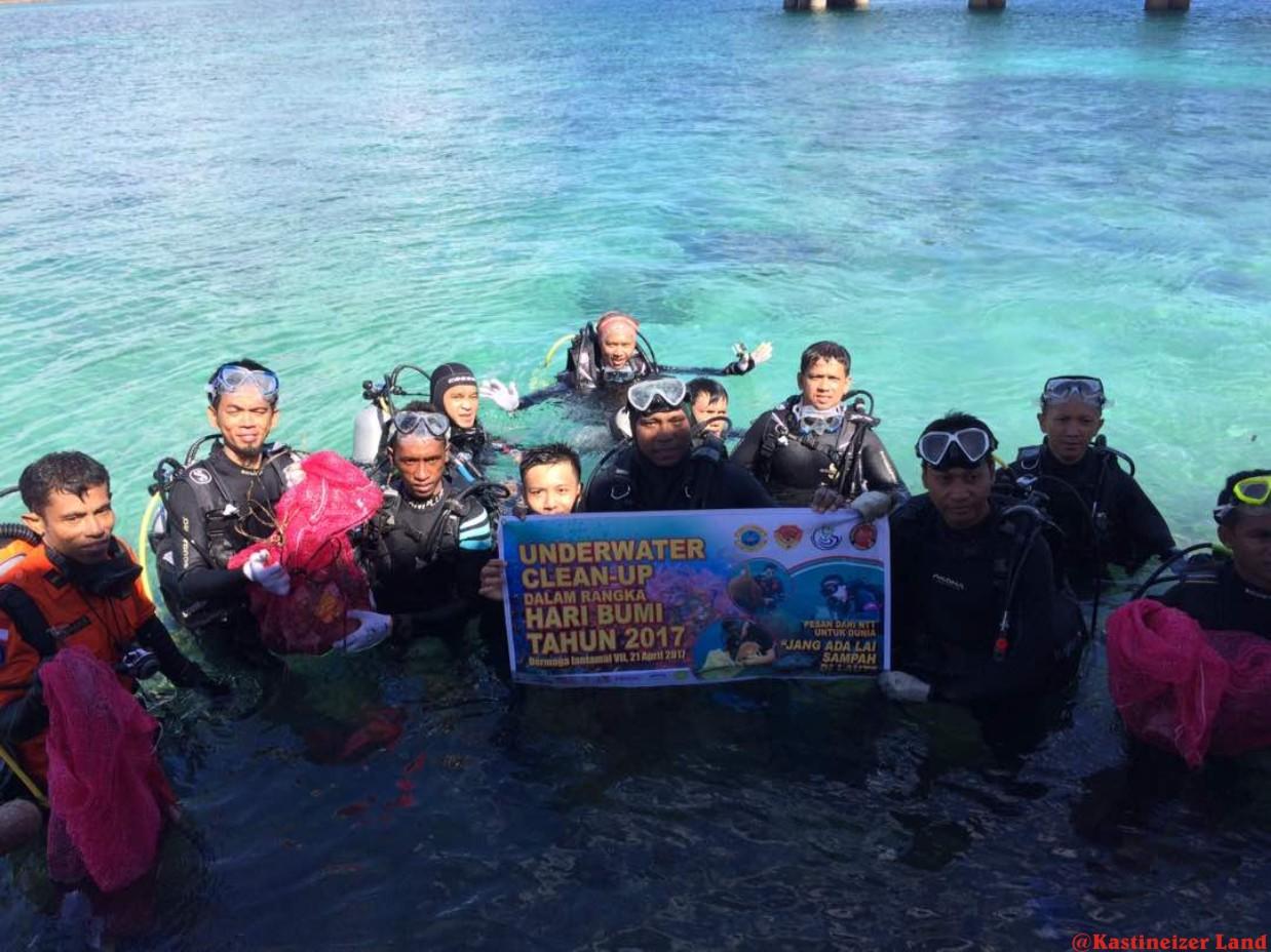 Kkp Kementerian Kelautan Perikanan Rangka Memperingati Hari Bumi Bkkpn Kupang