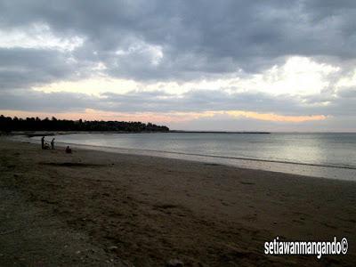 Libur Lebaran Kesempatan Eksplor Kupang Setiawan Mangando Pantai Pasir Putih
