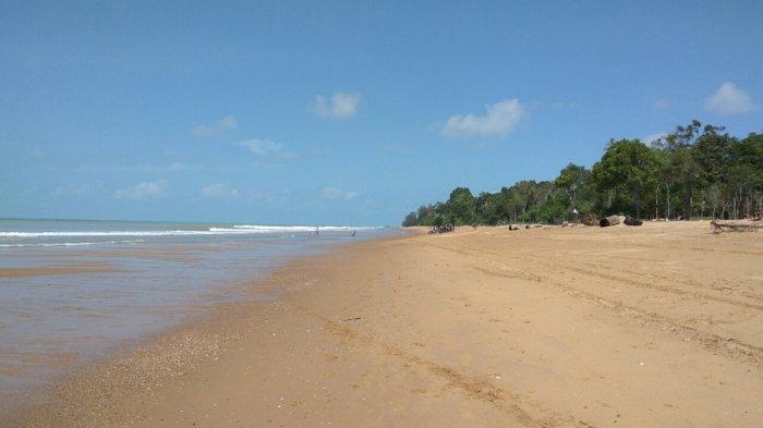 Mengenal Lebih Dekat Pesona Pantai Kampak Indah Paloh Tribun Ketapang