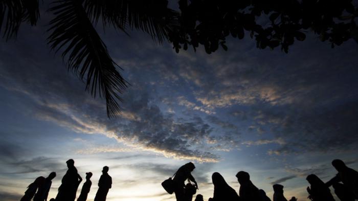 Pantai Air Mata Permai Tempat Favorit Wisata Ketapang Tribun Pontianak