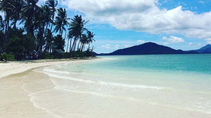 Video Keindahan Pulau Mahitam Pesawaran Wajib Dikunjungi Tribun Lampung Pantai
