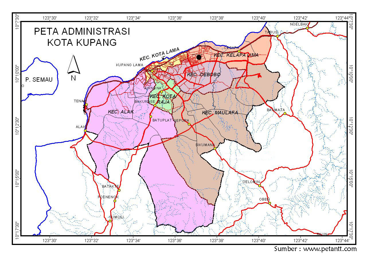 Dkp Kota Kupang Nama Sesungguhnya Diambil Raja Helong Nai Koepan