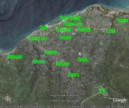 Info Ntt Kota Kupang Administratif Terbagi 6 Wilayah Kecamatan Meliputi
