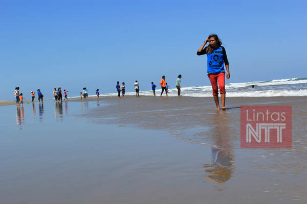 Lintas Ntt Archive Travel 4 Wisata Pantai Oetune Terkendala Infrastruktur