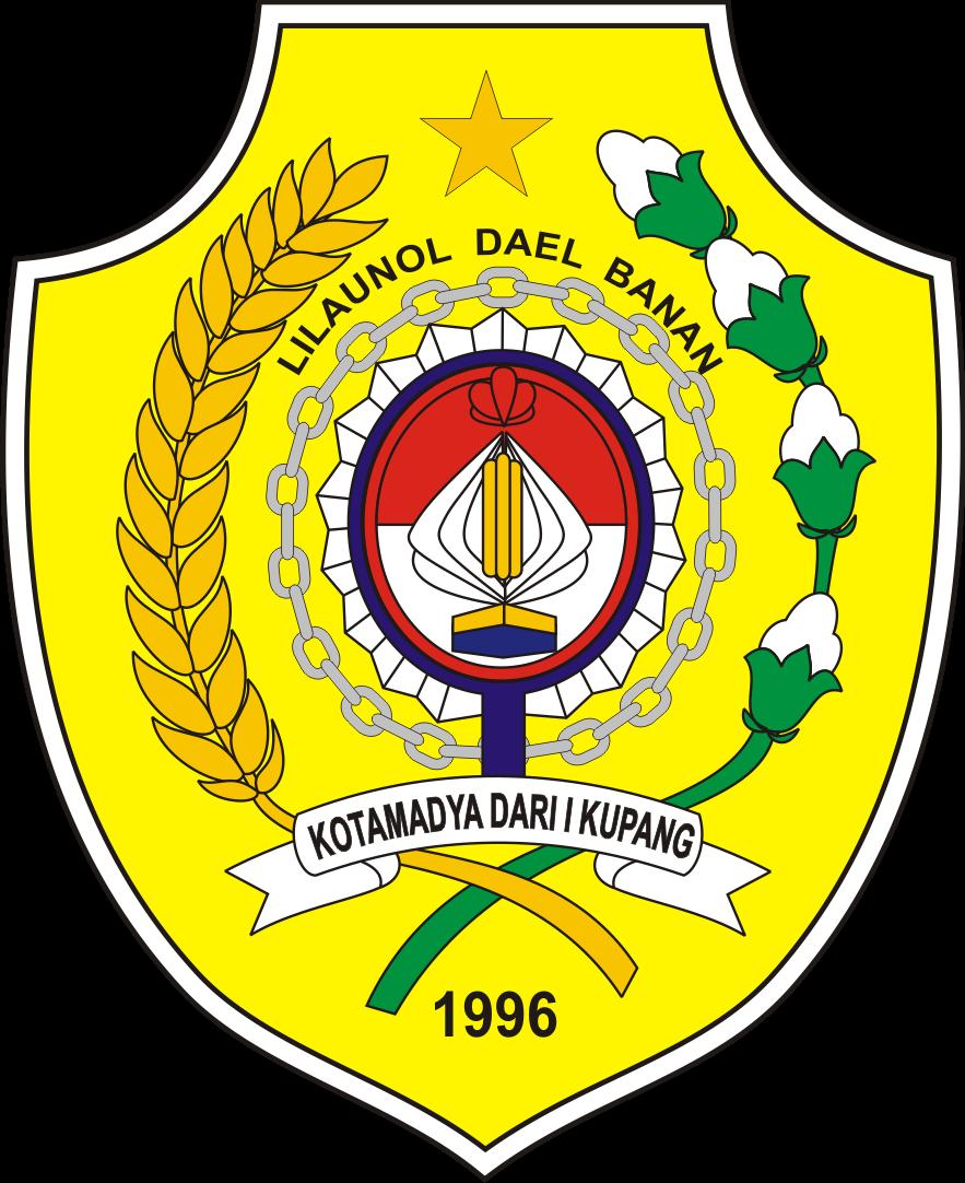 Logo Kota Kupang Provinsi Ntt Nusa Tenggara Timur Lambang Pantai