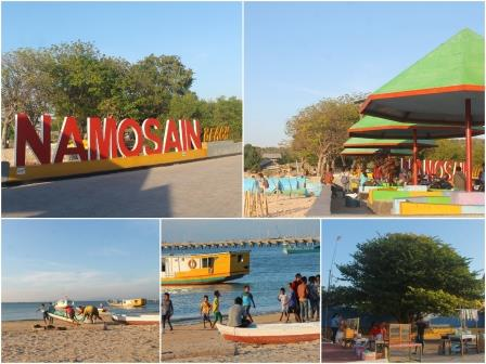 Potensi Daerah Kota Kupang Antonius Bani Oktober 2016 Pantai Namosain
