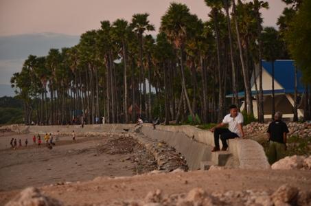 Apakah Pembangunan Pengaman Pantai Wisata Lasiana Asal Asalan Kab Kupang
