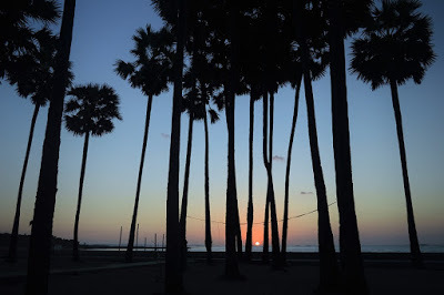Atiqoh Hasan Blog Terpikat Sunset Pantai Lasiana Kupang Weekdays Tak