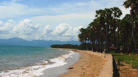 Didi Sadili Pantai Lasiana Menjadi Andalan Wisata Kota Kupang Letaknya