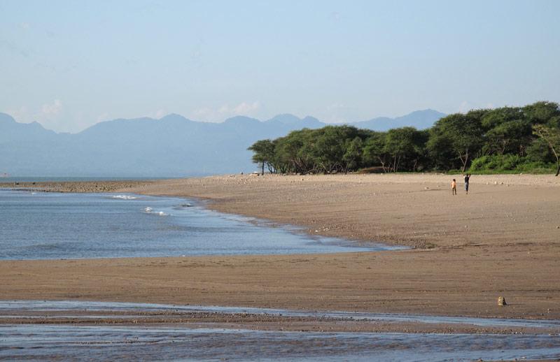 Indahnya Senja Pantai Lasiana Berita Daerah Lasiana4 Kab Kupang