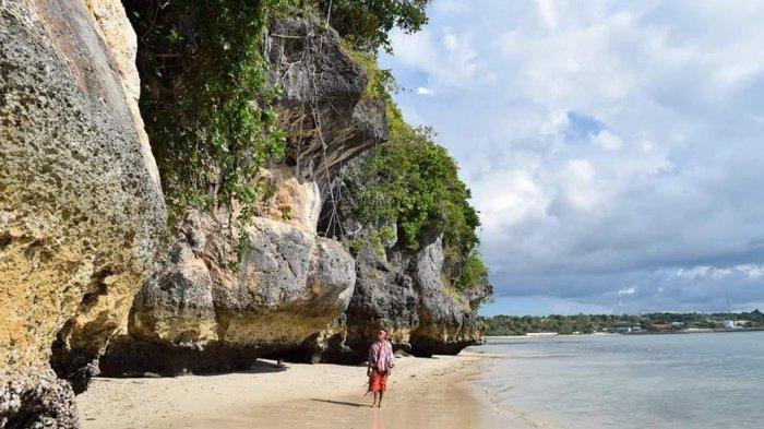 Pantai Air Dao Lasiana Pesisir Wajib Dikunjungi Kota Kupang Kab