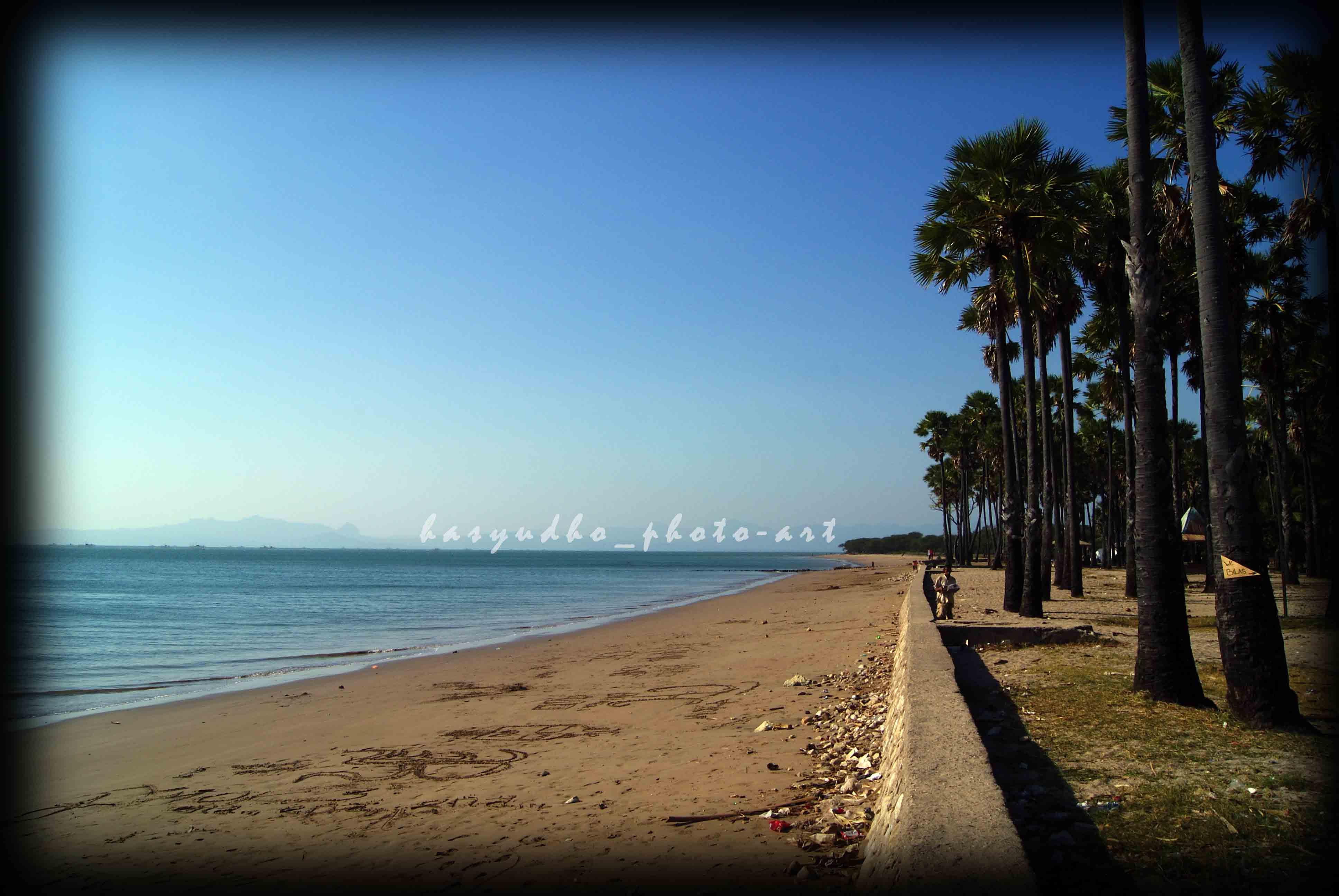 Pantai Lasiana Indah Timur Kota Kupang Hasyudho Kab