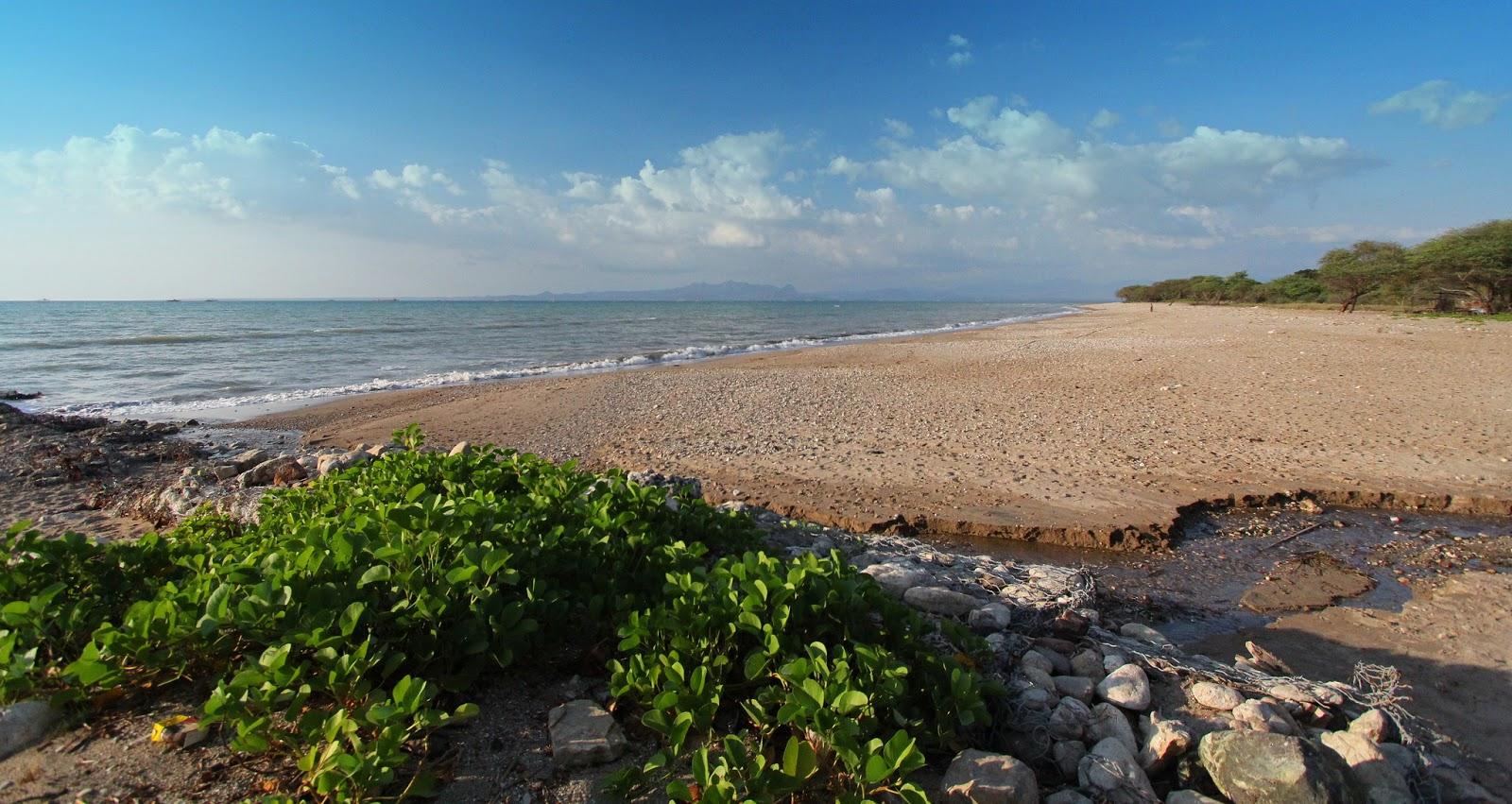 Pantai Lasiana Keindahan Sunset Nusa Tenggara Timur Kupang Kab
