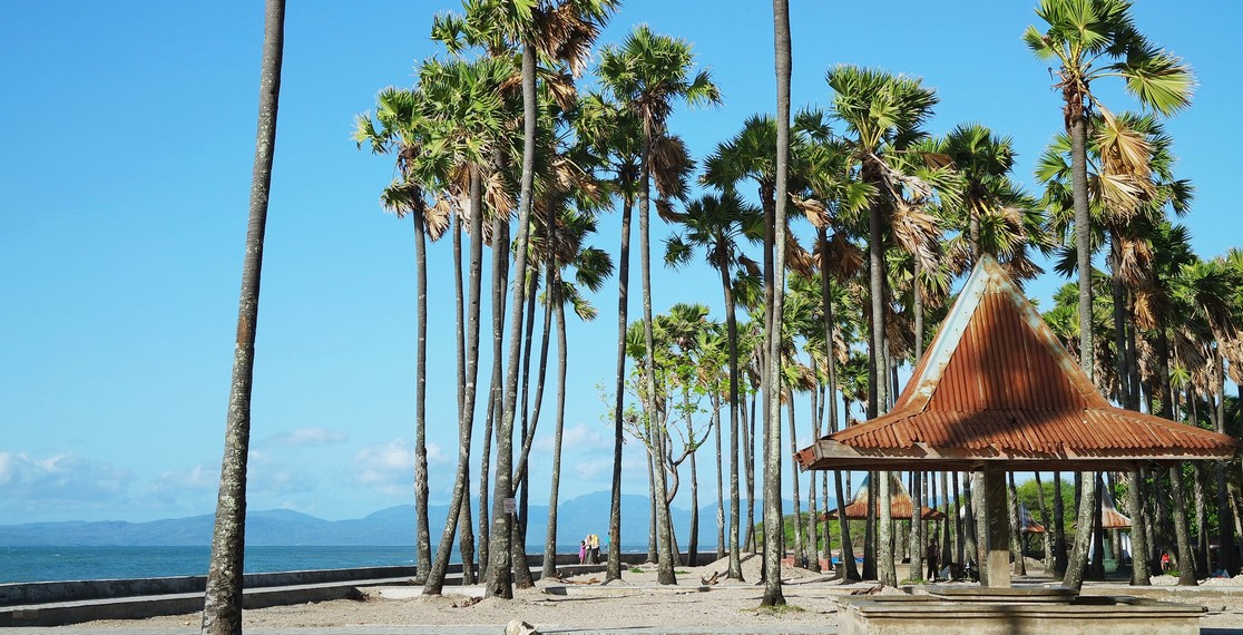 Pantai Lasiana Wisata Unggulan Kota Kupang Indonesiakaya Sejumlah Fasilitas Tersedia