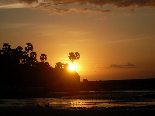 Pariwisata Ntt Lasiana Beach Kota Kupang Pantai Kab