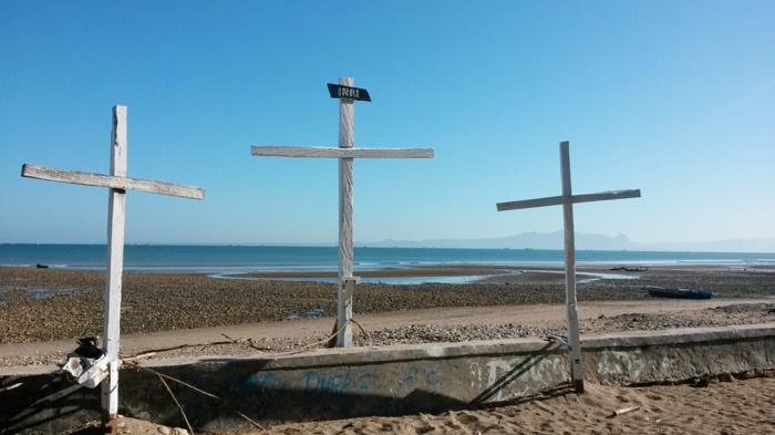 Air Surut Bongkahan Akik Koral Terhampar Pantai Manikin Kupang Pos