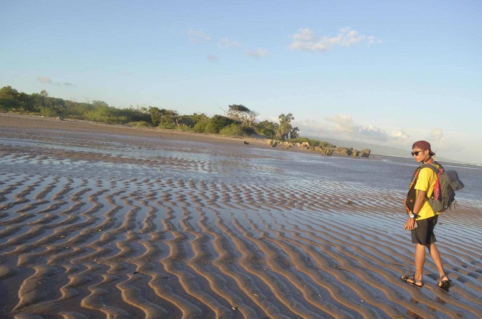 Arianto Ntt Pantai Salupu Kabupaten Kupang Warga Disekitar Kebanyakan Berasal