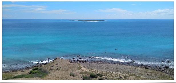 Pantai Liman Info Pariwisata Kabupaten Kupang Depan Terdapat Pulau Tabui