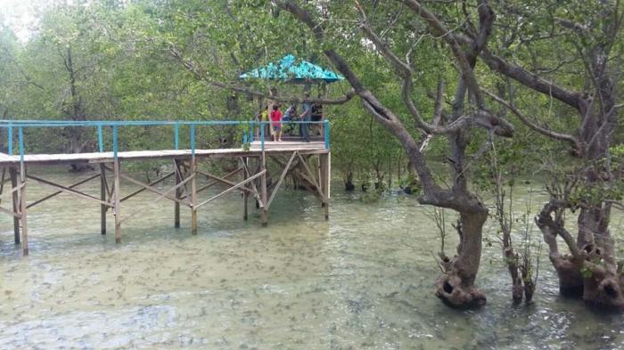 Bangun Breakwater Lasiana Pos Kupang Pantai Nunsui Kab