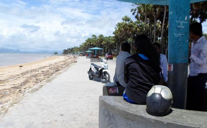 Objek Wisata Pantai Batunona Kumuh Aktual Terhangat Kupang Wilayah Nunsui