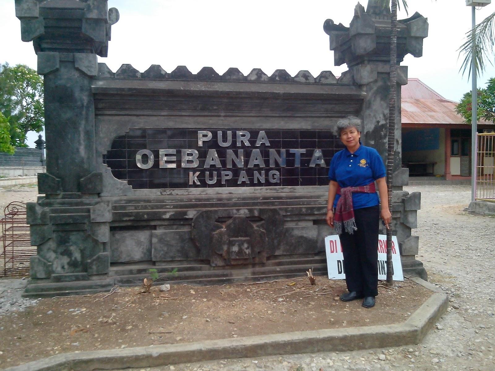 Santidiwyarthi Desember 2015 Kupang Terdapat Pantai Menarik Pasar Oeba Terkenal