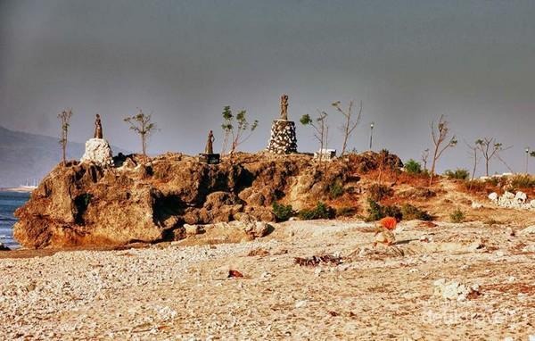 Terpikat Pesona Pantai Batu Nona Kupang Tebing Nunsui Kab