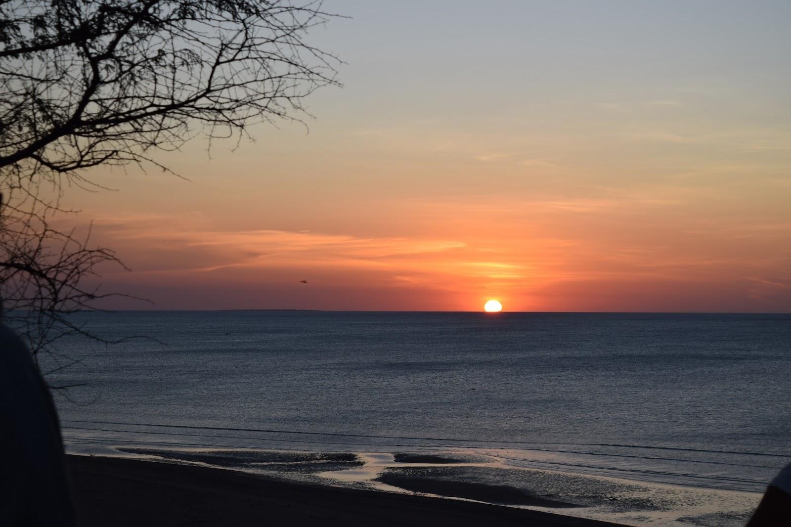 Arianto Ntt Sunset Pantai Panmuti Kabupaten Kupang Pasir Panjang Kab
