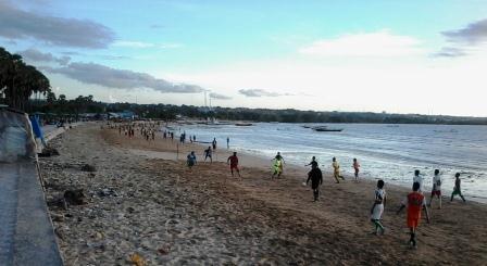 Didi Sadili Pantai Kota Kupang Sejatinya Indah Pasir Panjang Oesapa