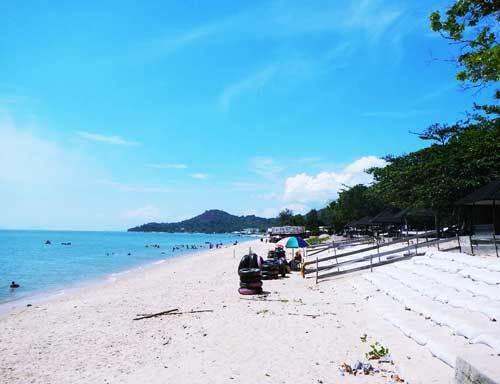 Keseruan Pantai Pasir Panjang Singkawang Tempat Wisata Terbaik Image Olipeoile