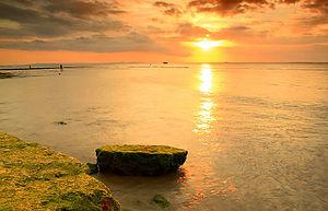Kota Kupang Wikipedia Bahasa Indonesia Ensiklopedia Bebas Pemandangan Senja Pantai