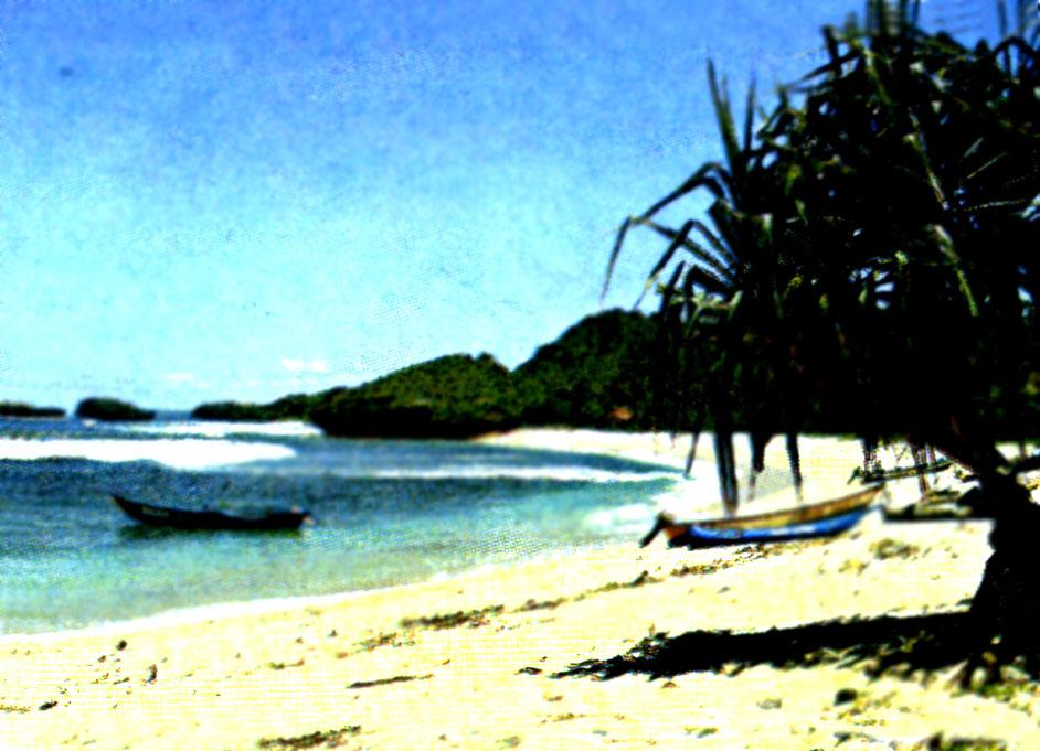 Pantai Klayar Kabupaten Pacitan Wisata Jawatimuran 100040001 Pasir Panjang Kab