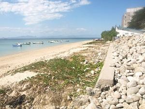 Pekerjaan Pengamanan Pantai Pasir Panjang Bukti Keberpihakan Pemerintah Kab Kupang