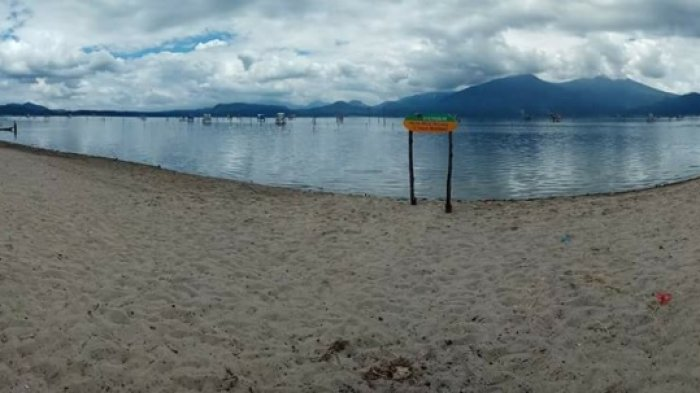 Ribuan Pengunjung Serbu Ikon Wisata Pantai Pasir Panjang Kerinci Keistimewaannya