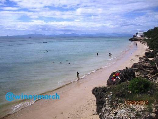 Travelling Pantai Pasir Panjang Kupang Winny Marlina Kab