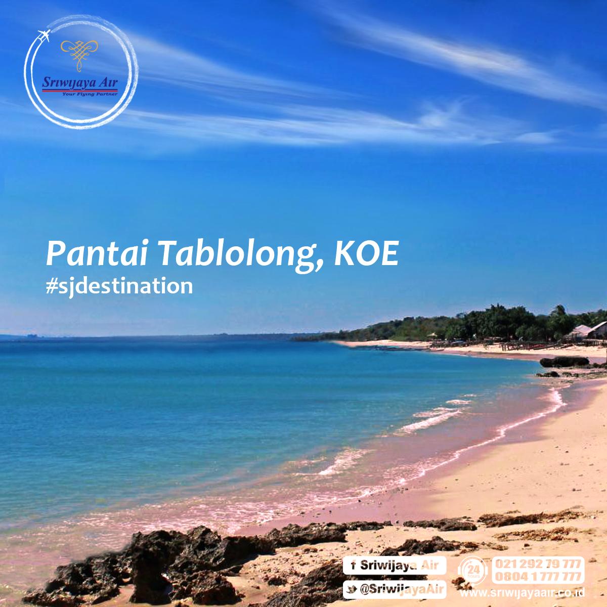 Foto Pantai Tablolong Lokasi Berada Ujung Selatan Pulau Timor Berjarak