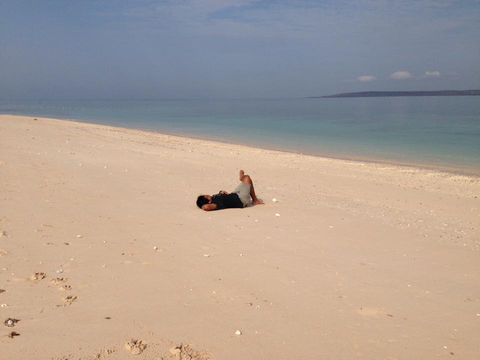 Mengunjungi Panorama Pantai Tablolong Exploring 1 Kab Kupang