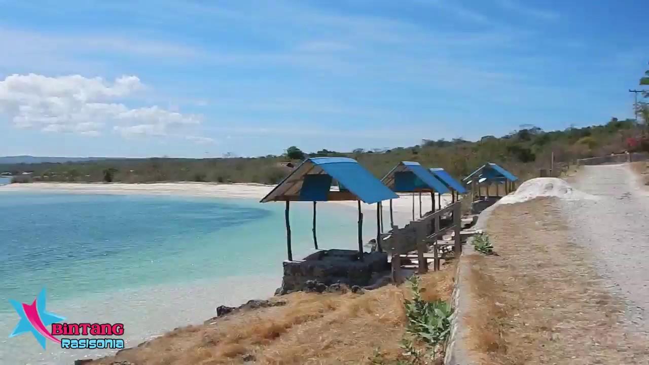 Pantai Tablolong Kupang Ntt Part 2 Cantik Berwarna Gradasi Kab