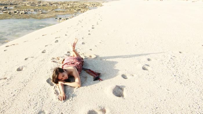 Pesona Pantai Tablolong Kupang Ntt Surga Biota Laut Terumbu Kab