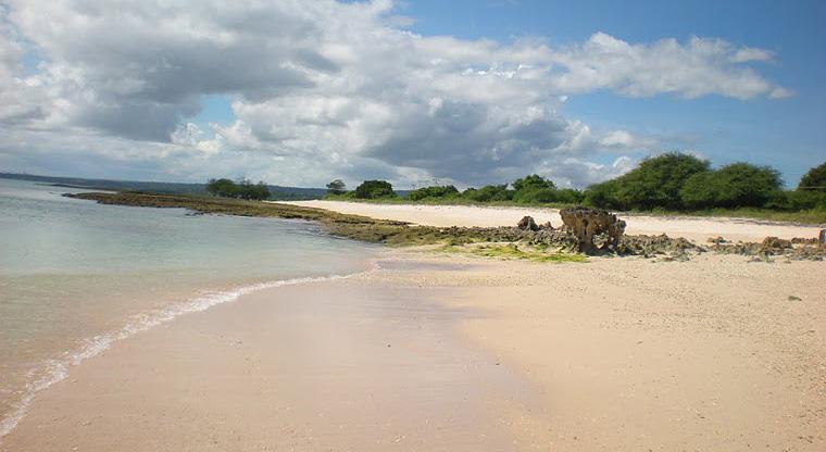 Tablolong Pantai Putih Indah Ujung Barat Kabupaten Kupang Kab