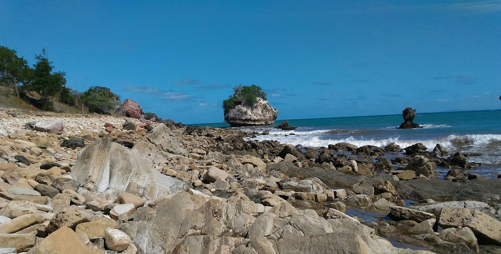 Arianto Ntt Pantai Batu Burung Kabupaten Kupang Tempat Parkir Tedis