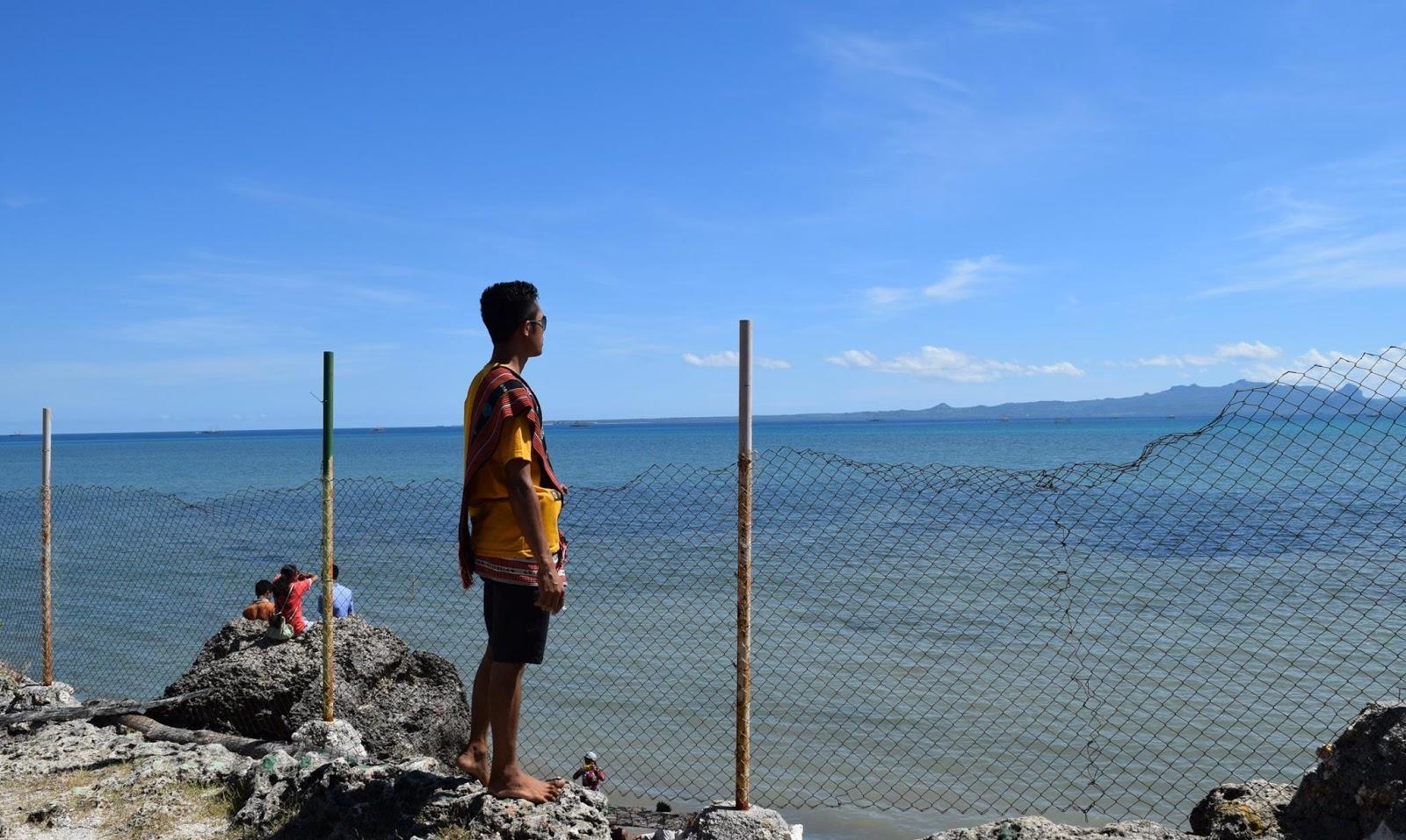 Arianto Ntt Pantai Batu Nona Kota Kupang Oesapa Tarus Turun