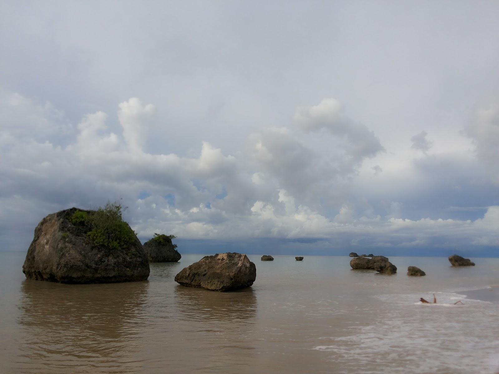 Arianto Ntt Pantai Leli Kabupaten Rote Ndao Batu Karang Hitam