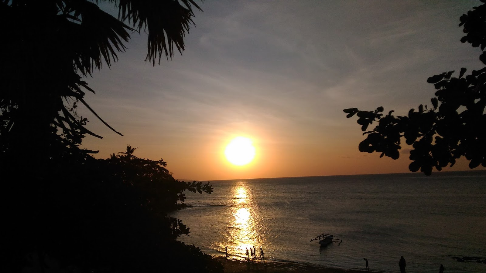 Arianto Ntt Sunset Pantai Ketapang Satu Kota Kupang Tedis Kab