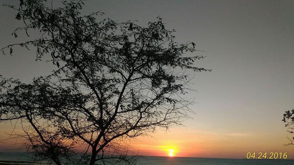 Arianto Ntt Sunset Pantai Panmuti Kabupaten Kupang Terletak Dekat Rumah