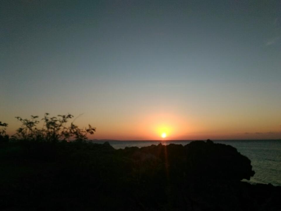 Arianto Ntt Sunset Pantai Pasir Panjang Kota Kupang Tedis Kab