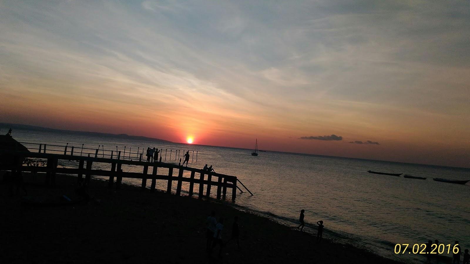 Arianto Ntt Sunset Pantai Tedis Kota Kupang Kab