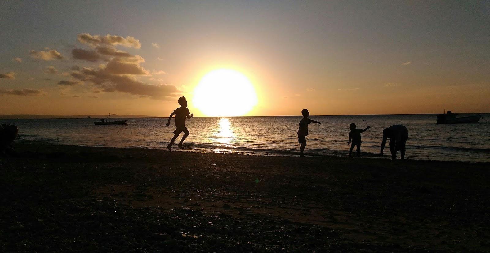 Arianto Ntt Sunset Pasir Panjang Kota Kupang Foto Diambil Tanggal