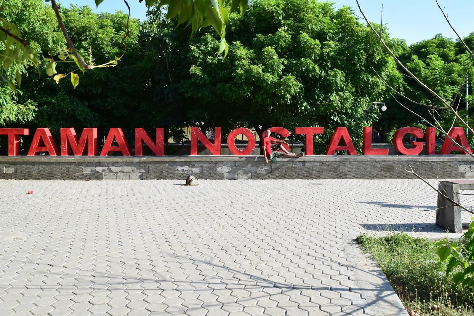 Arianto Ntt Taman Nostalgia Kota Kupang Pantai Tedis Kab